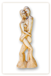 lovers wedding present sculpture
